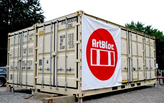 The containers can be reconfigured to accommodate a variety of uses.